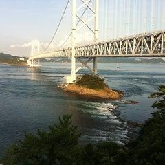 Photo taken at 大鳴門橋 by atomato s. on 9/12/2012