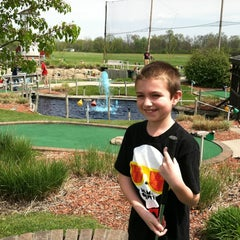 Photo taken at Udders and Putters Mini Golf Course by Steven R. on 4/15/2012