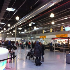 Photo taken at Frankfurt Hahn Airport (HHN) by Manuel D. on 4/21/2012