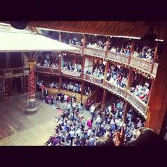 Photo taken at Shakespeare's Globe Theatre by Menachem F. on 5/29/2012