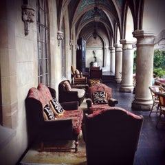 Photo taken at Château Marmont by Marie B. on 6/10/2012