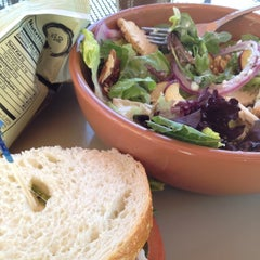 Photo taken at Panera Bread by Muffin V. on 6/9/2012