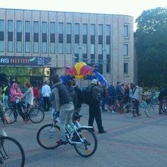 Photo taken at Kronvalda parks by Oļa K. on 5/26/2012