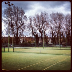 Photo taken at Bective Tennis by Iarla B. on 4/16/2012