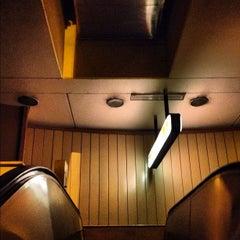 Photo taken at Metro Aquiles Serdán (Línea 7) by codelog on 3/14/2012