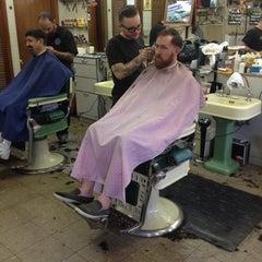 Photo taken at Joe's Barbershop Chicago by Manuel B. on 8/26/2012