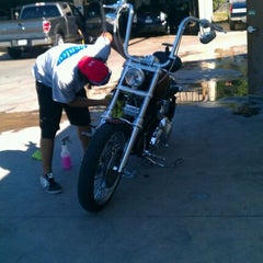 Photo taken at Conley Car Wash & Express Lube by Mike T. on 4/21/2012