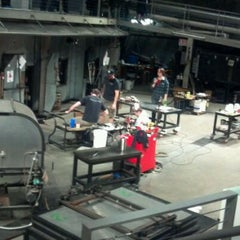 Photo taken at The Hot Shop at the Museum Of Glass by Jason W. on 4/7/2012