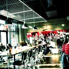 Photo taken at Zombie Burger + Drink Lab by Erik R. on 2/19/2012