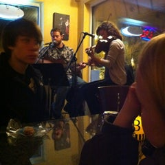 Photo taken at Backstage Pizza by Dan B. on 2/12/2012