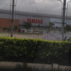 Photo taken at Yamaha Motor Asian Center by Koon J. on 7/26/2012