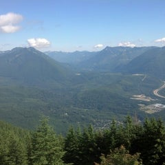 Photo taken at Mount Si Summit by Courtney Q. on 8/1/2012