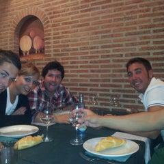 Photo taken at Candasu Sidrería Restaurante & Llagar by Héctor V. on 7/7/2012