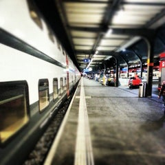 Photo taken at Gare de Genève Cornavin by vinCy on 8/29/2012