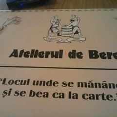 Photo taken at Atelierul de bere by Catalin B. on 3/16/2012