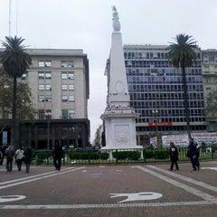 Photo taken at Plaza de Mayo by Rodolfo Javier T. on 6/12/2012