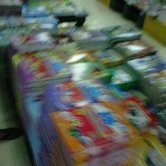 Photo taken at Fajar Agung Book Store by Bang N. on 6/20/2012