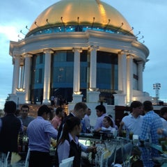 Photo taken at The Tower Club at lebua by Leianne Kindred P. on 7/28/2012