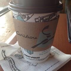 Photo taken at Caribou Coffee by Ashley B. on 8/23/2012