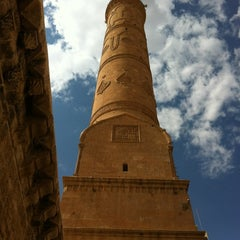 Photo taken at Mardin Ulu Cami by Nukhet E. on 7/11/2012