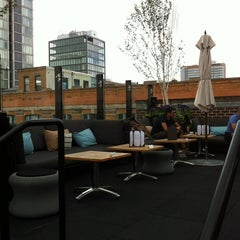 Photo taken at STK Rooftop by Stephanie C. on 6/17/2012