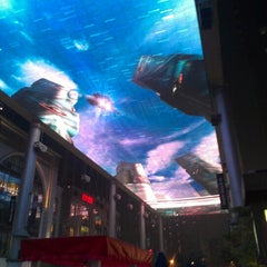 Photo taken at 世贸天阶 The Place by Lin X. on 8/30/2012