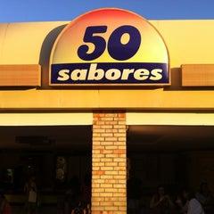 Photo taken at Sorveteria 50 Sabores by Fabio T. on 6/9/2012