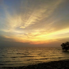 Photo taken at Pontian Sea Side by Aminuddin O. on 5/15/2012