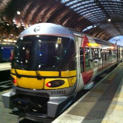 Photo taken at Heathrow Express Train - Paddington [PAD] to Heathrow [HXX] by Daisuke S. on 6/10/2012