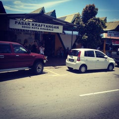 Photo taken at Pasar Kraftangan (Handicraft Market) by Rzl M. on 8/28/2012
