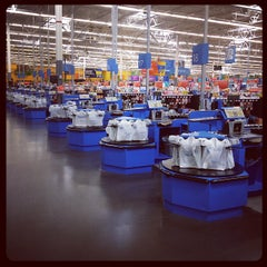 Photo taken at Walmart Supercenter by Erik E. on 3/6/2012