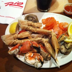 Photo taken at Village Seafood Buffet by Andrew on 8/8/2012