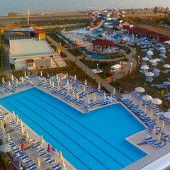 Photo taken at Kahya Resort Aqua&Spa by Zafer K. on 7/10/2012