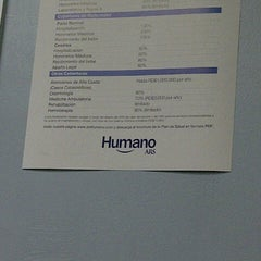 Photo taken at ARS Humano by Yerly G. on 8/2/2012
