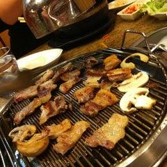 Photo taken at Shin Chon Garden Restaurant by Kathrine H. on 2/19/2012