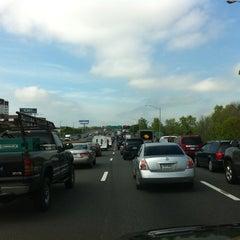 Photo taken at I-84 -- Hartford by Stephen K. on 5/4/2012