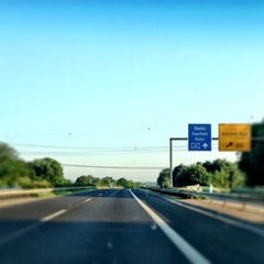 Photo taken at A 61 by Alexa R. on 5/28/2012