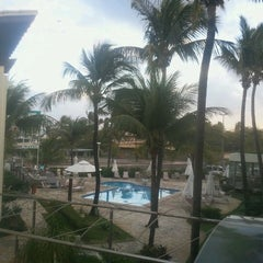 Photo taken at Mar Brasil Hotel Salvador by Joao Marcos T. on 8/25/2012