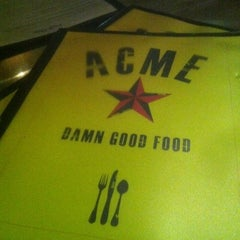 Photo taken at Acme Food & Beverage Co by Mark S. on 3/14/2012