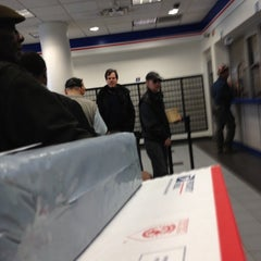 Photo taken at US Post Office - Times Square Station by Carter M. on 4/2/2012