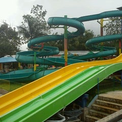 Photo taken at Minang Fantasy Waterpark by Feritti P. on 5/6/2012