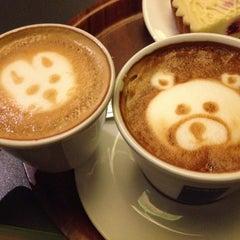 Photo taken at Index Cafe by Diāna M. on 2/12/2012