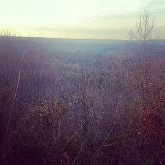 Photo taken at Peavine Falls Overlook by Eakin R. on 2/5/2012