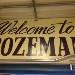 Photo taken at Bozeman Yellowstone International Airport (BZN) by Dylan L. on 7/26/2012