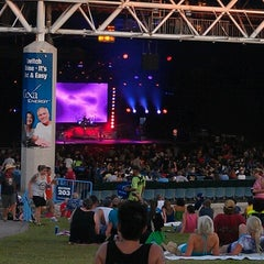 Photo taken at Gexa Energy Pavilion by Monty on 6/25/2012