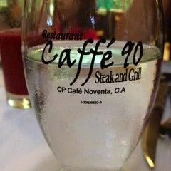 Photo taken at Caffé 90 by douglas l. on 8/16/2012