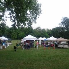 Photo taken at Lindsley Park by Spencer G. on 4/29/2012