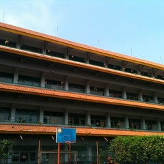 Photo taken at SMKN 8 Jakarta by Vanya L. on 6/4/2012