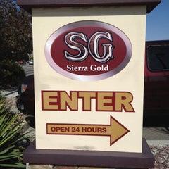Photo taken at Sierra Gold by Guy J. on 5/11/2012