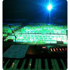 Photo taken at Teatro Riachuelo by Pedro C. on 8/4/2012